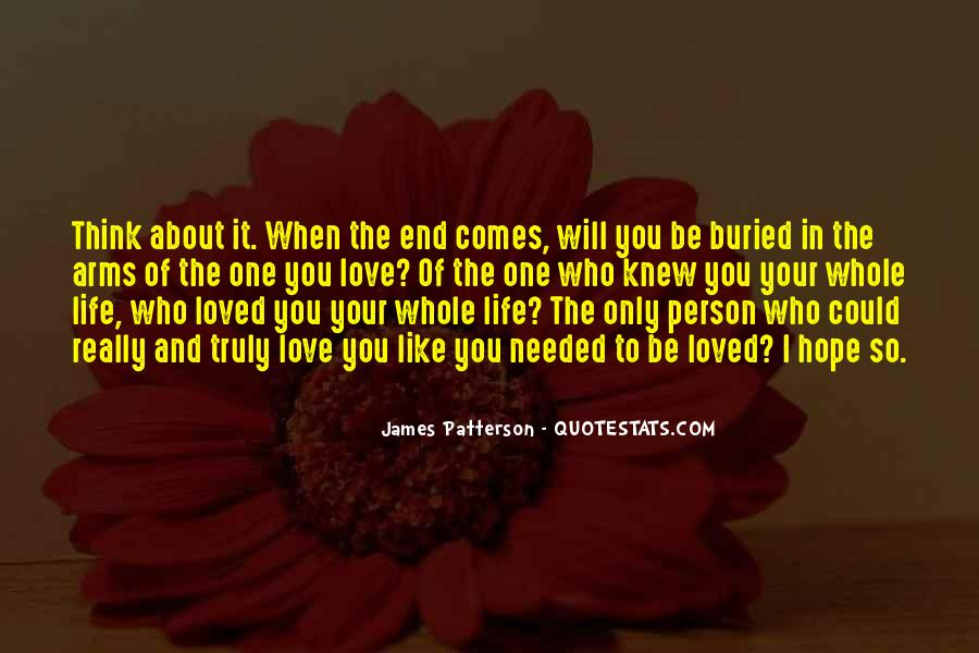 End Of Love Quotes #192779