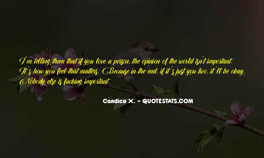End Of Love Quotes #194631