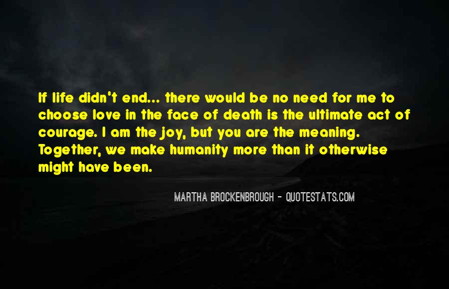 End Of Love Quotes #62291