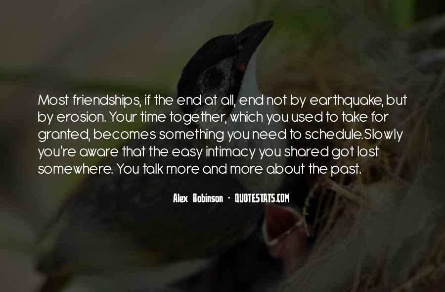 End Of Our Friendship Quotes #540177