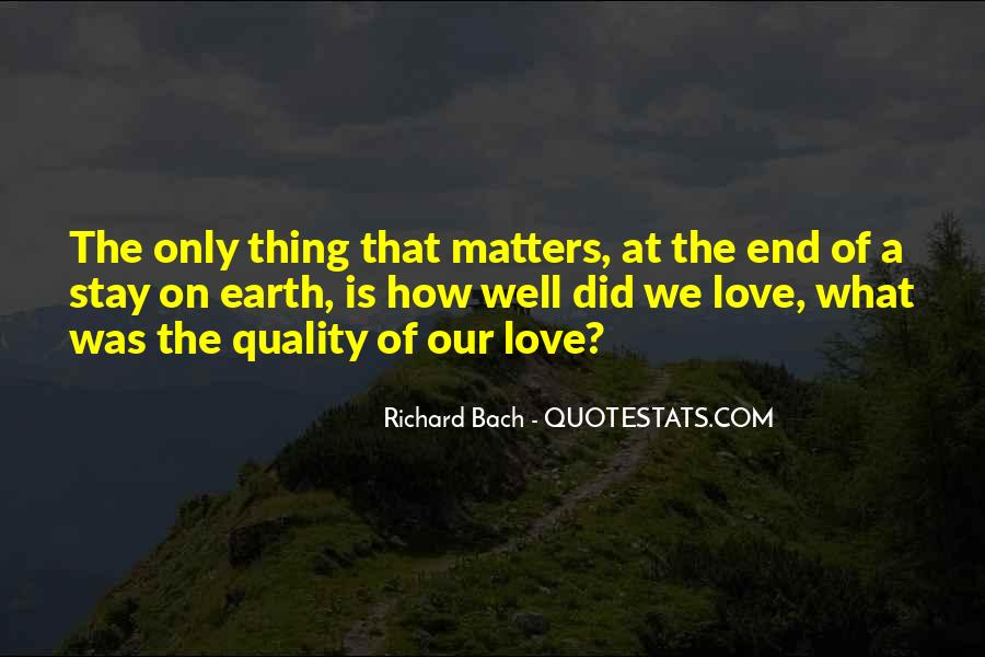 End Of Our Love Quotes #111159