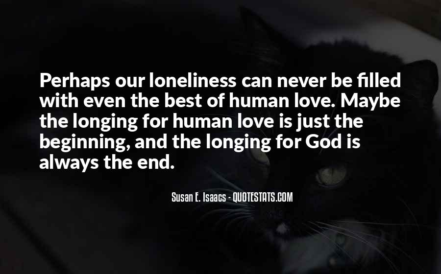 End Of Our Love Quotes #1343900