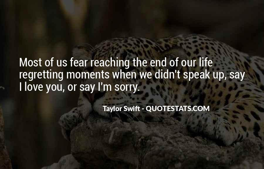 End Of Our Love Quotes #1356136