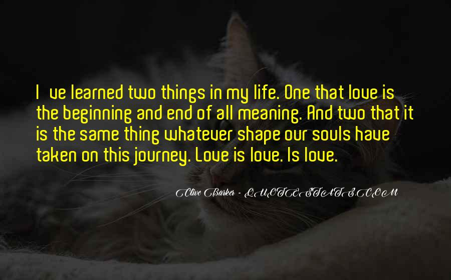 End Of Our Love Quotes #1597245