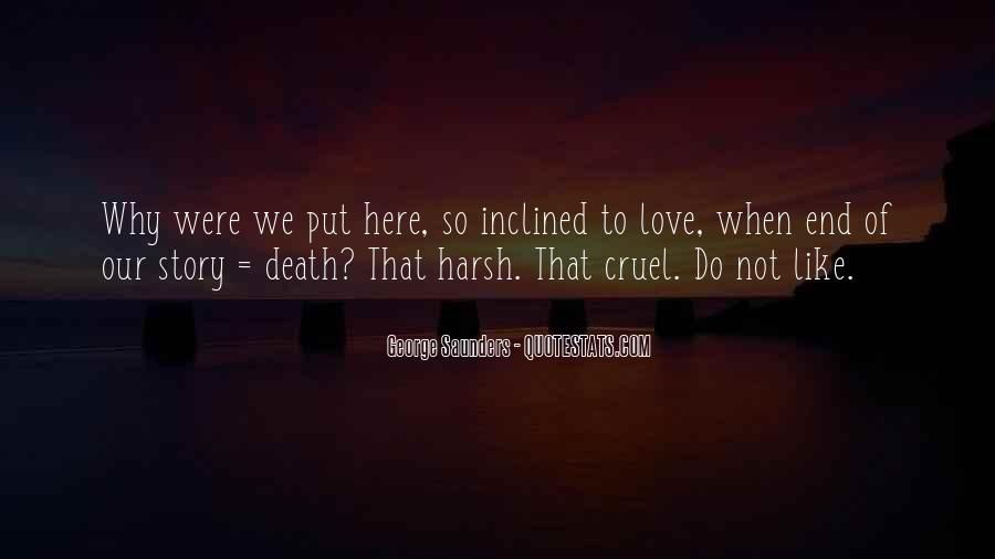 End Of Our Love Quotes #1626596