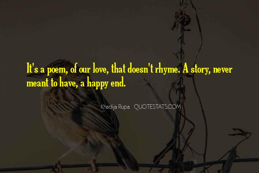 End Of Our Love Quotes #222821