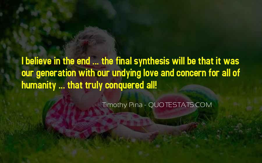 End Of Our Love Quotes #598597