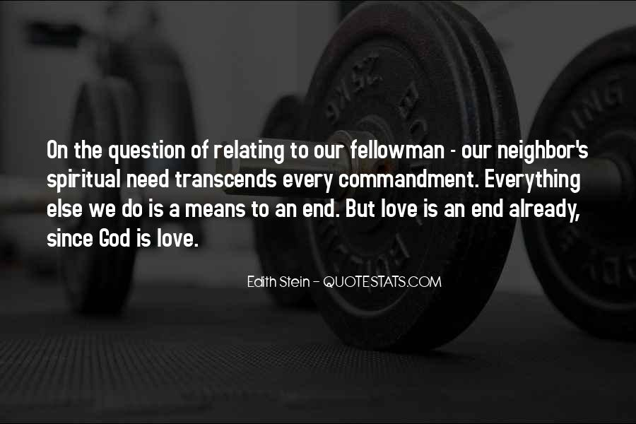 End Of Our Love Quotes #635118