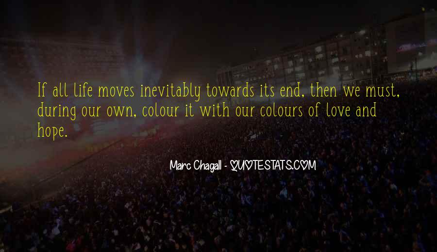 End Of Our Love Quotes #66817