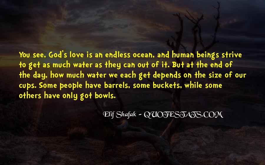 End Of Our Love Quotes #99665