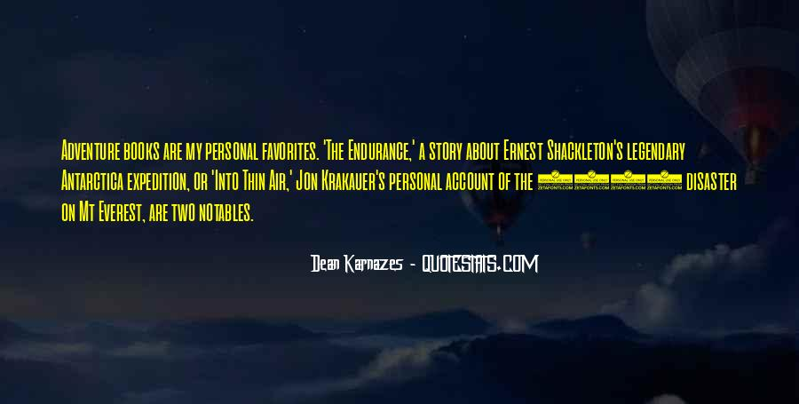 Endurance Expedition Quotes #10251