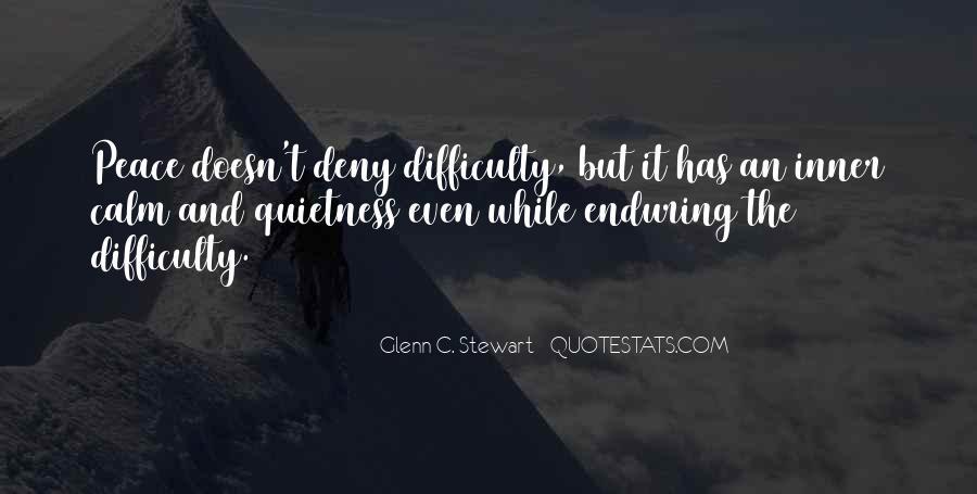 Enduring Hardship Quotes #1007620