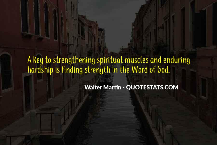 Enduring Hardship Quotes #1617033