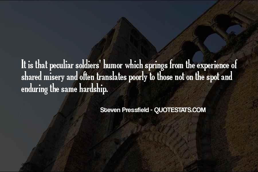 Enduring Hardship Quotes #331012