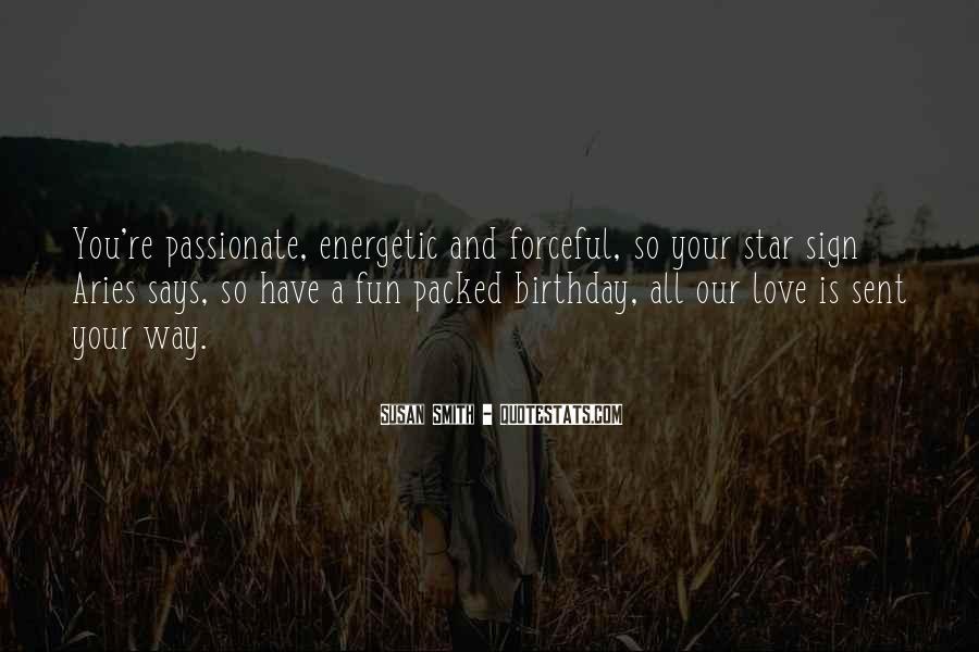 Energetic Love Quotes #766327