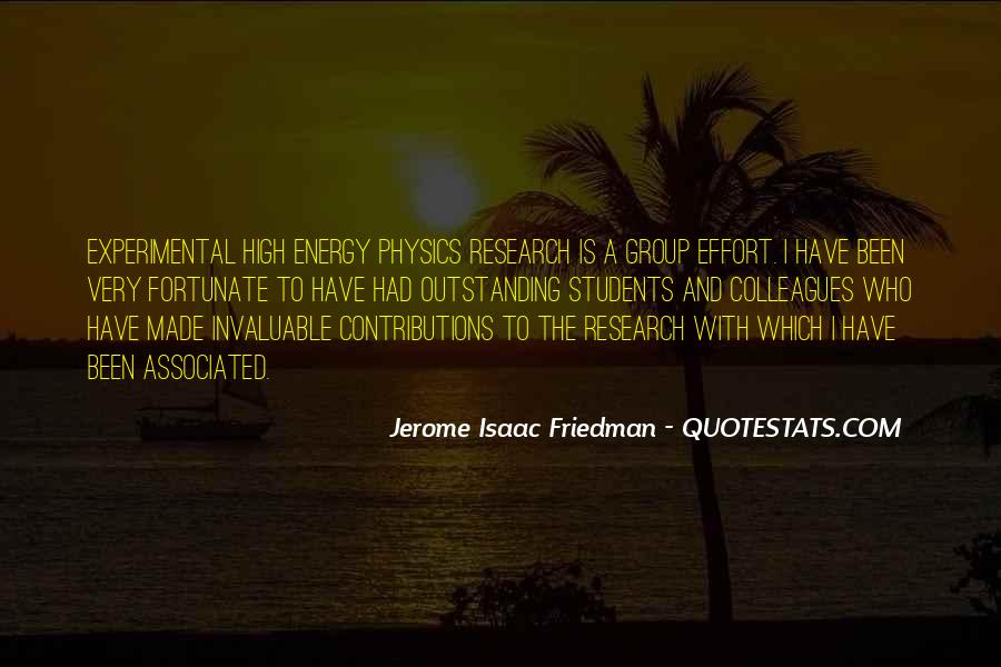 Energy And Effort Quotes #1034161