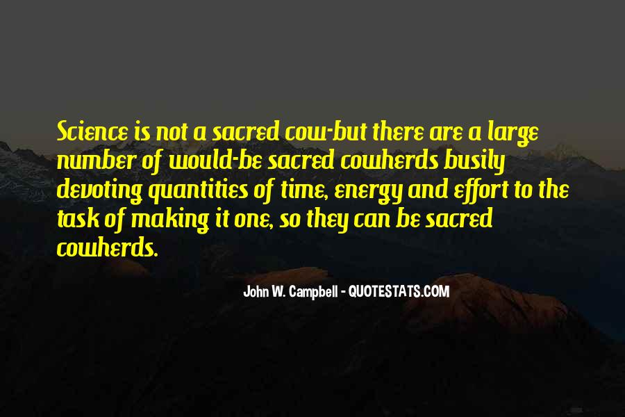 Energy And Effort Quotes #1378139