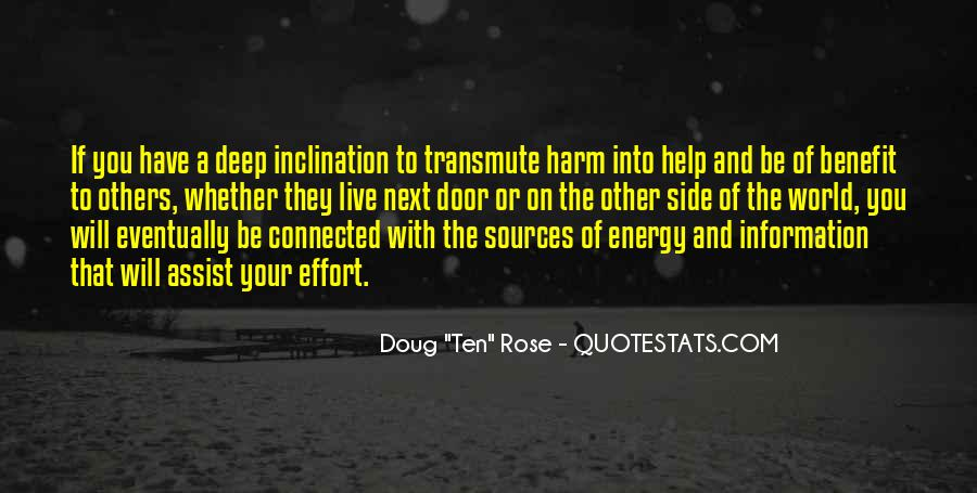 Energy And Effort Quotes #1468135