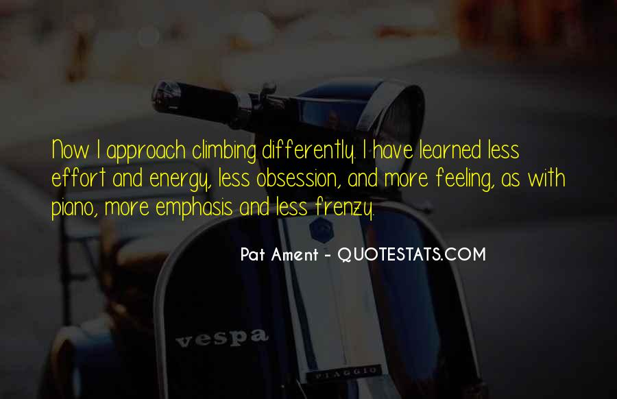 Energy And Effort Quotes #20621