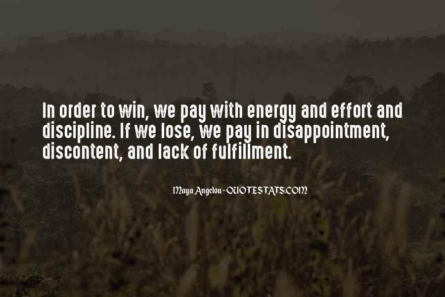 Energy And Effort Quotes #305850