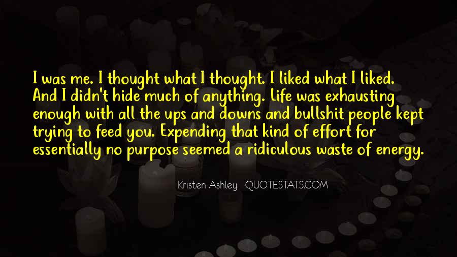 Energy And Effort Quotes #479103