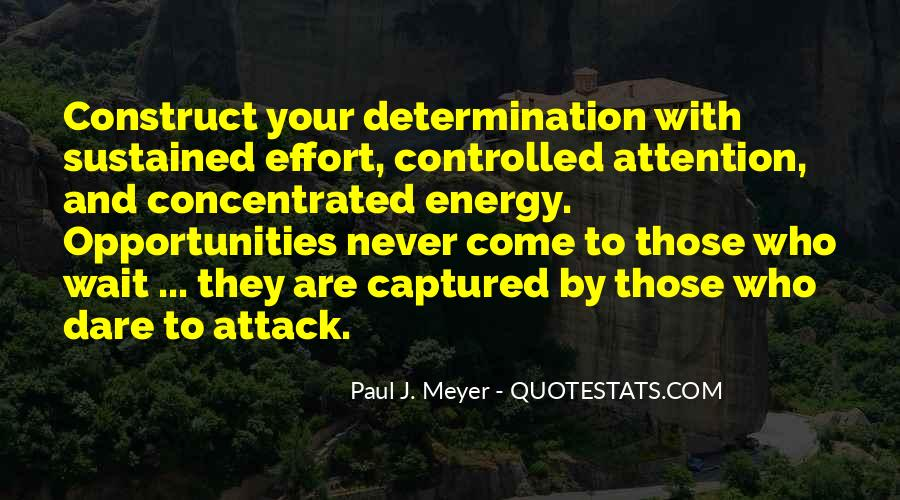 Energy And Effort Quotes #741087