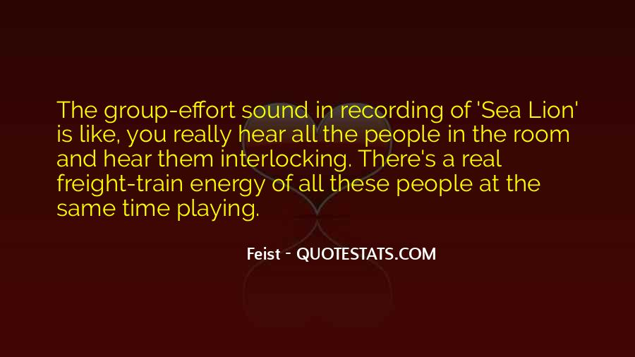 Energy And Effort Quotes #821435