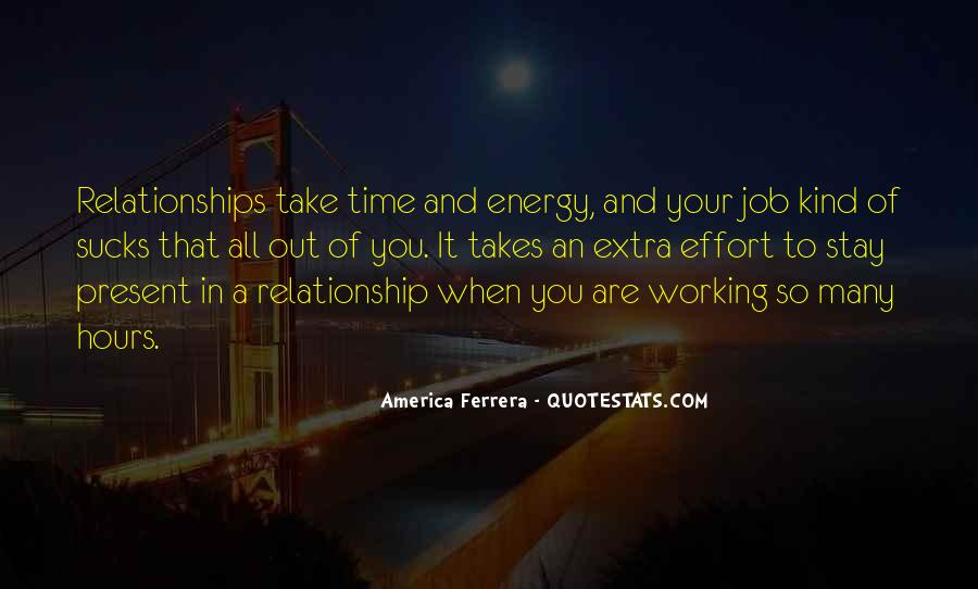 Energy And Effort Quotes #939263