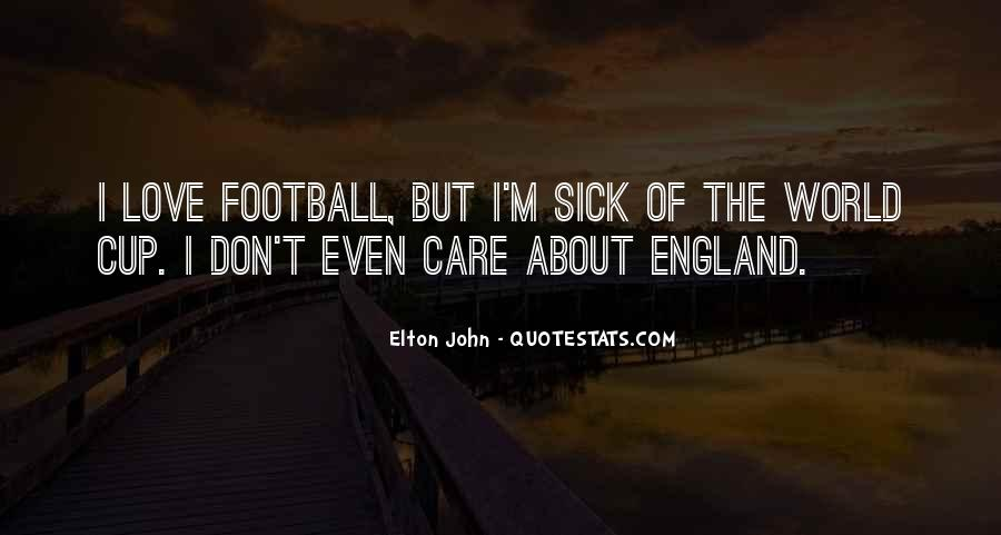 England World Cup Football Quotes #1398637