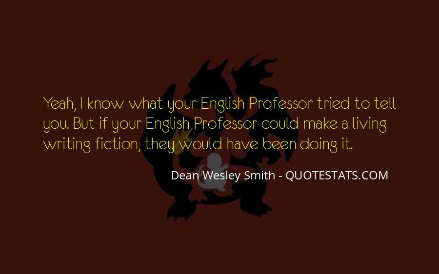 English Professor Quotes #11282