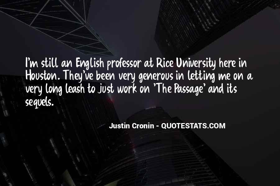 English Professor Quotes #1328025