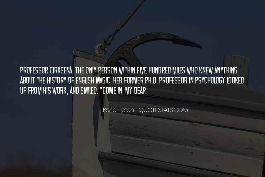 English Professor Quotes #1506879