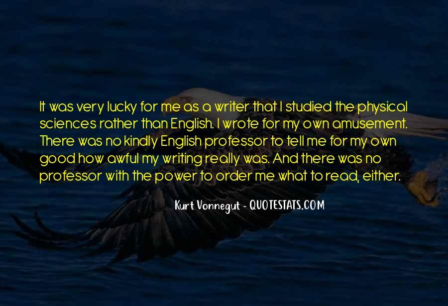 English Professor Quotes #1544470