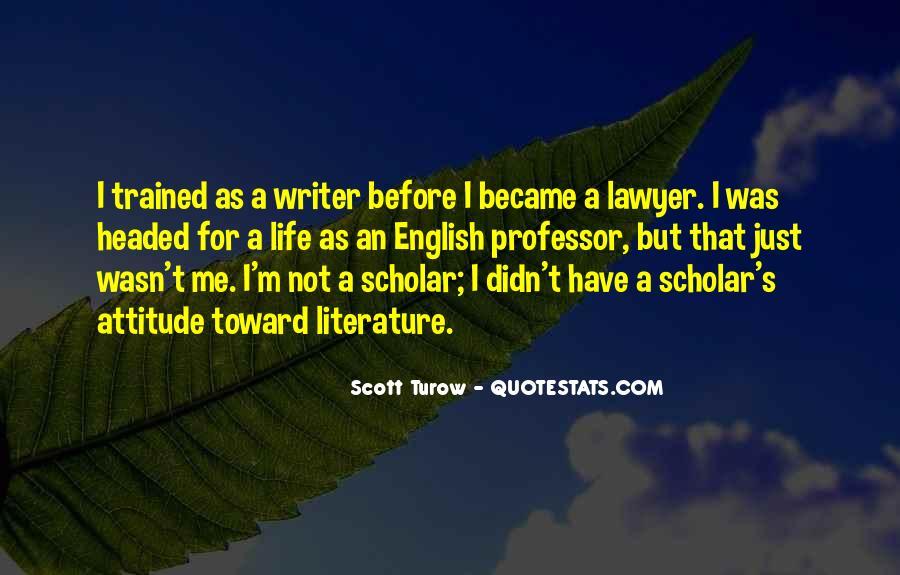 English Professor Quotes #1557920