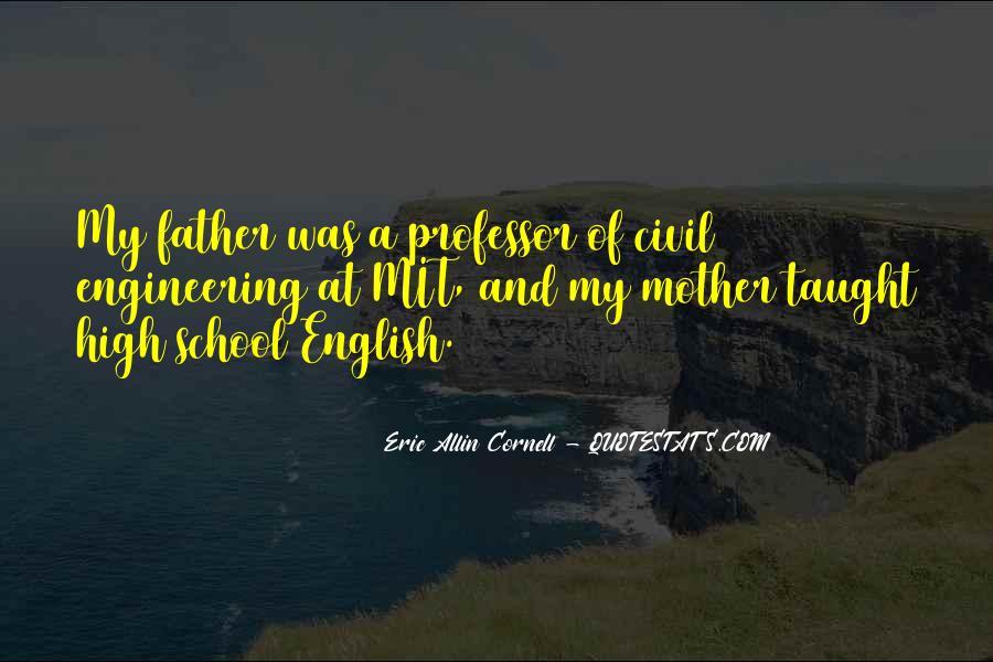 English Professor Quotes #1763140