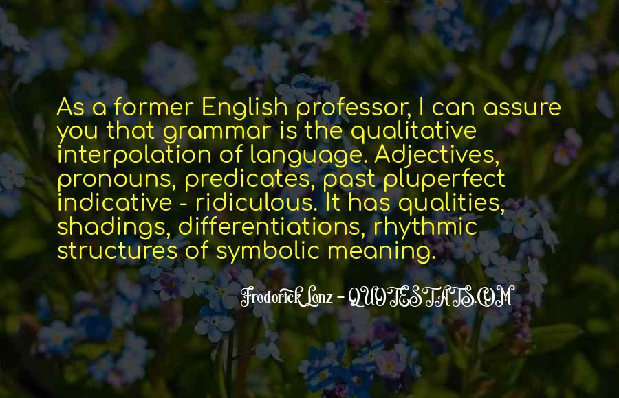 English Professor Quotes #1864644