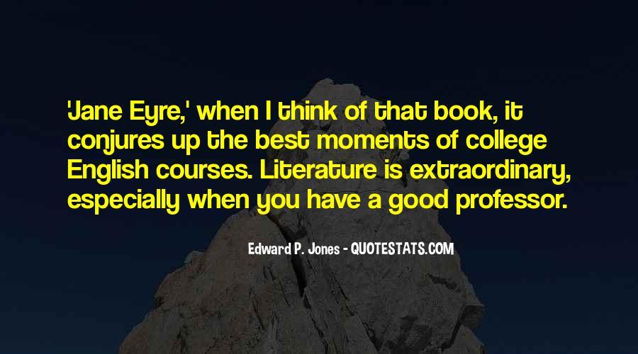 English Professor Quotes #52350