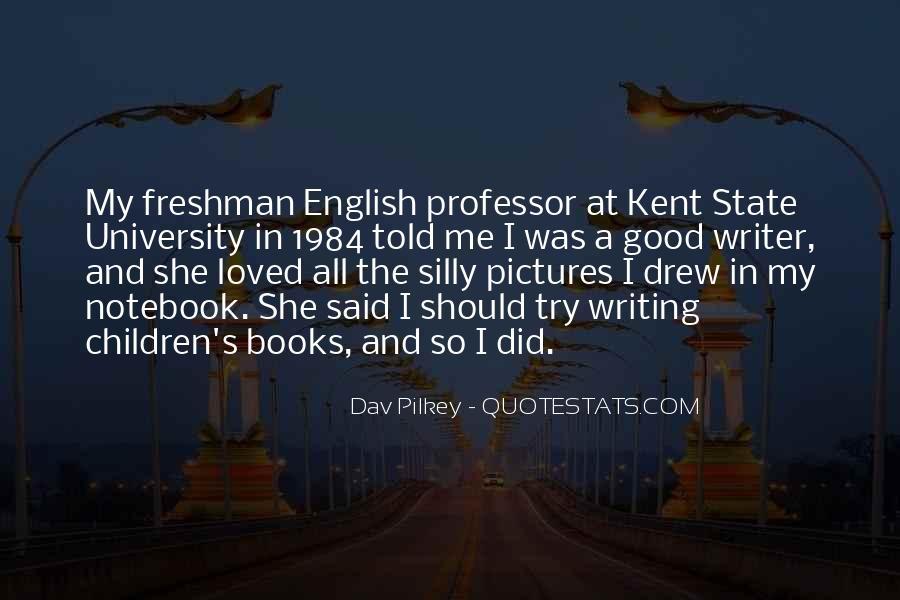English Professor Quotes #664811