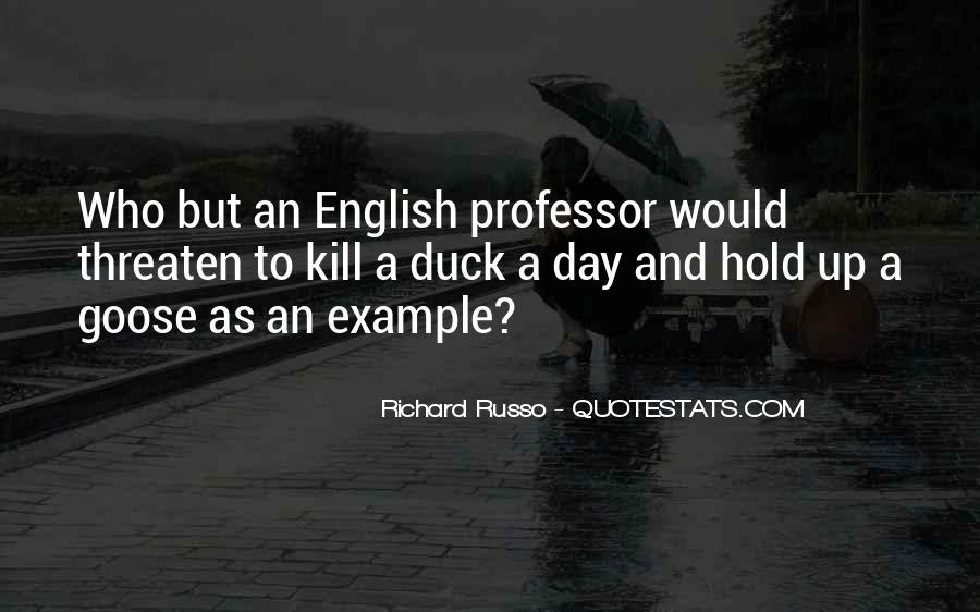 English Professor Quotes #667977