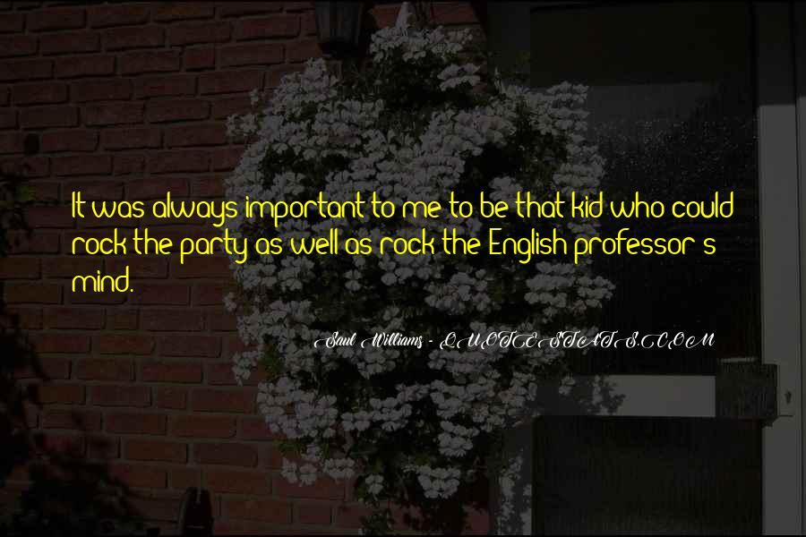 English Professor Quotes #853208