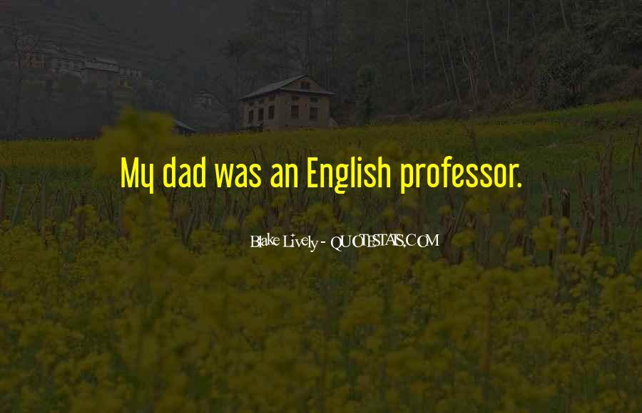 English Professor Quotes #883528