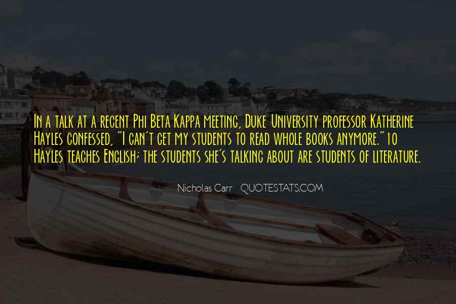 English Professor Quotes #966556