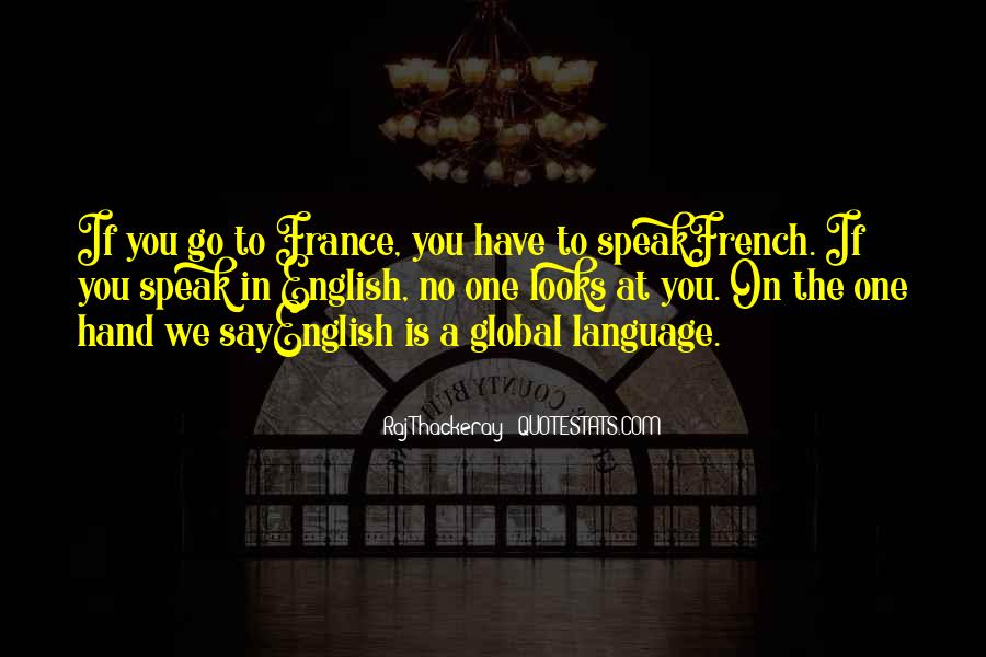 English The Global Language Quotes #12788