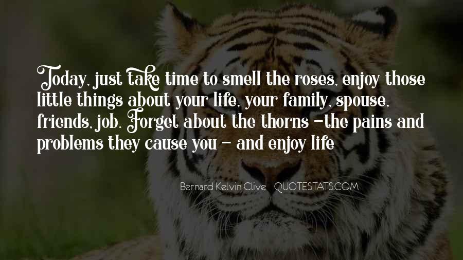 Enjoy Family Time Quotes #1595137