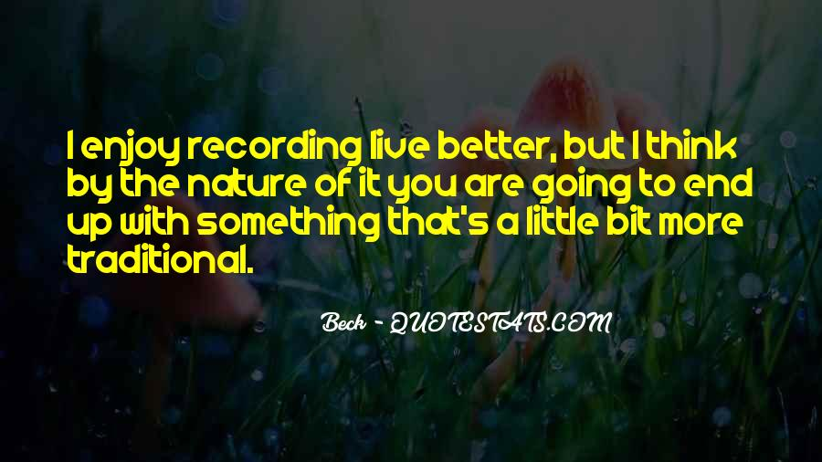 Enjoy Little Thing Quotes #276930