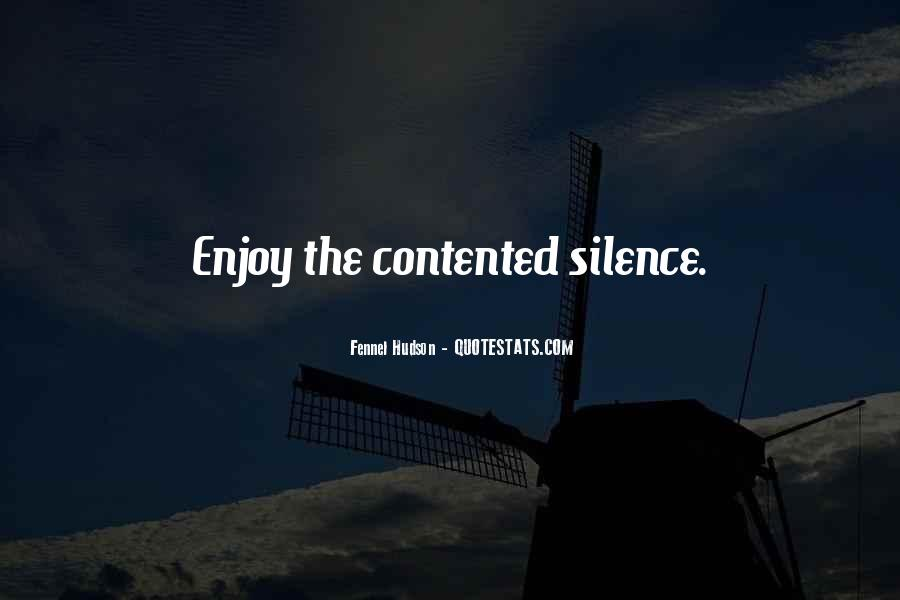 Enjoy The Silence Quotes #1517148