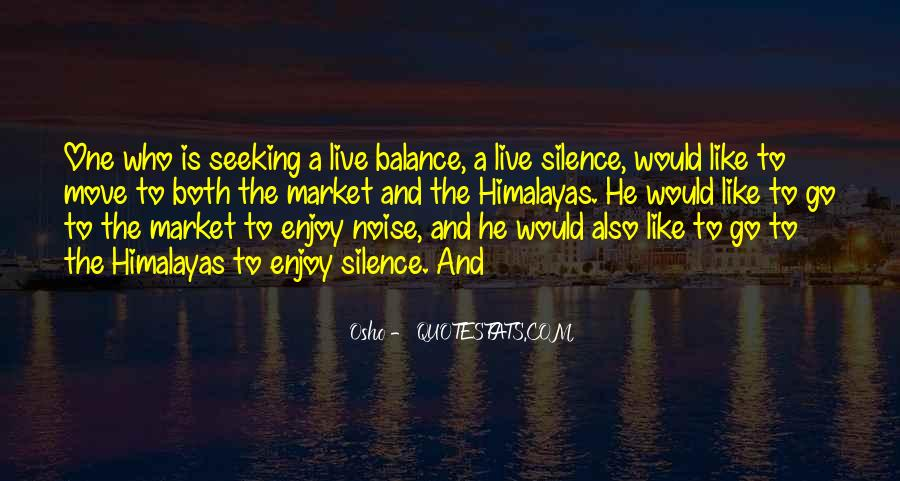 Enjoy The Silence Quotes #1568437