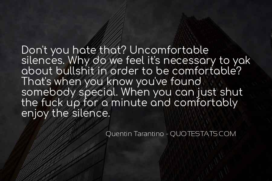 Enjoy The Silence Quotes #20166