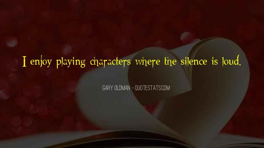 Enjoy The Silence Quotes #725061