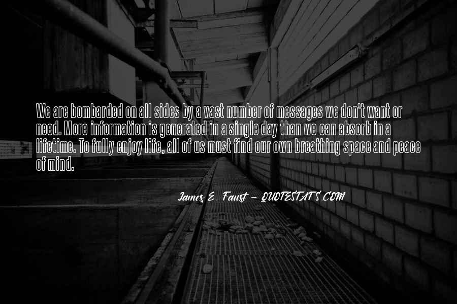 Enjoy The Single Life Quotes #1329874